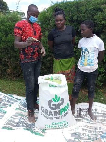 grainpro bag kenya story