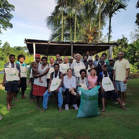 Solomon Island team